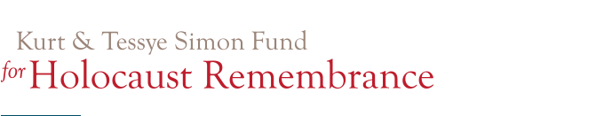 Kurt & Tessye Simon Fund for Holocaust Remenbrance